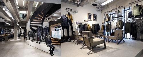 HOSS intropia NEW negro-black sweater top Retail $200!