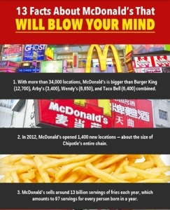 mcdonalds dominance Starbucks coffee and mcdonald's are two of the most famous coffee shops and fast food chains in the world respectively the two companies are two of the most famous transnational companies that dominate different countries.