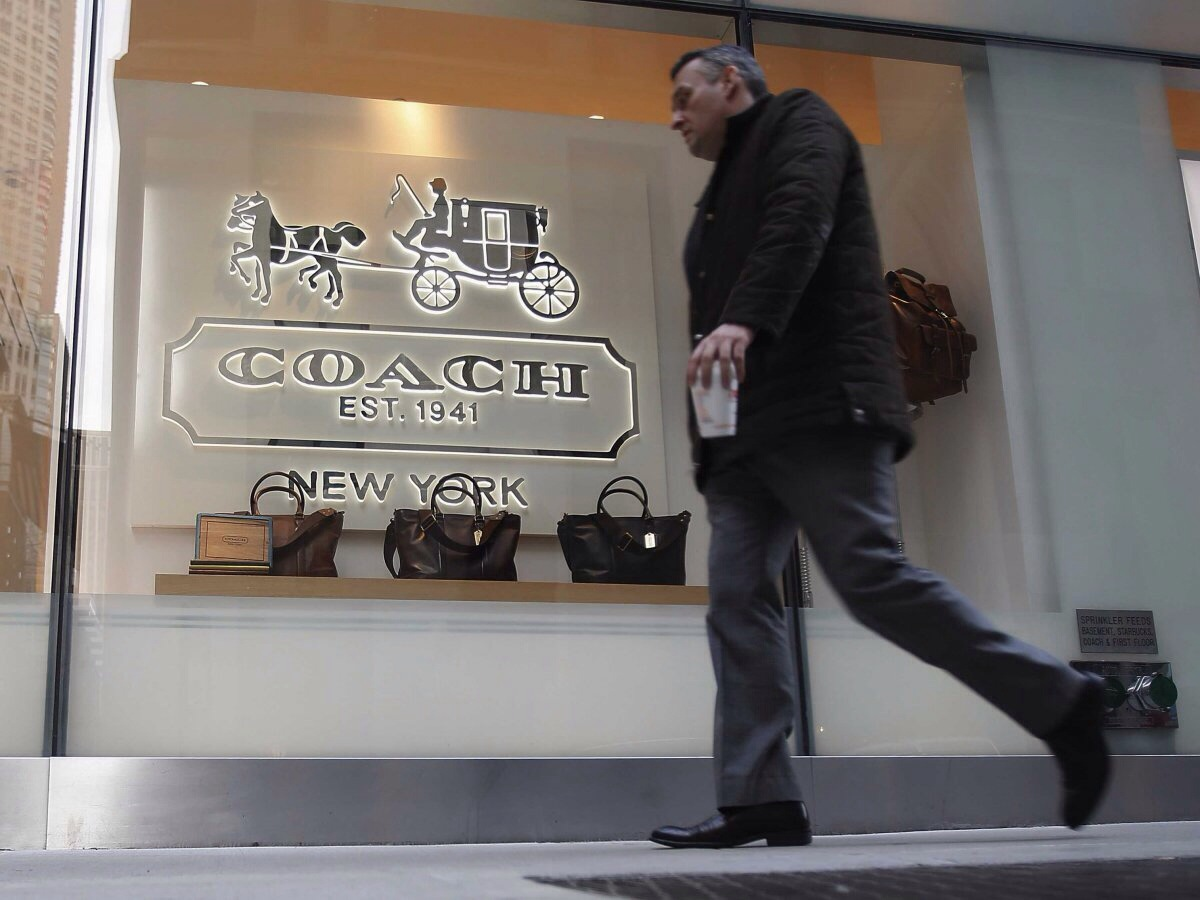 Coach Shares Are Plunging — Here Are Three Reasons The Company Is In Trouble