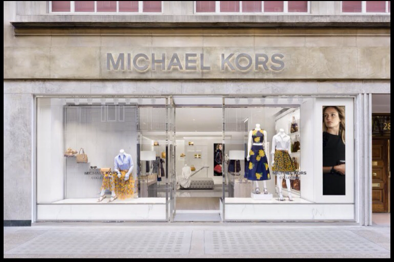 4dddc6407425b The first Michael Kors Collection Store in the UK covers a space of  1